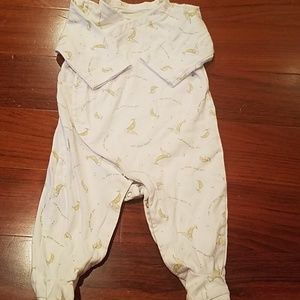 Baby onesie with footies